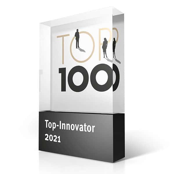 Wir erhalten das TOP 100-Siegel
